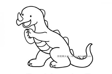 可爱的恐龙宝宝