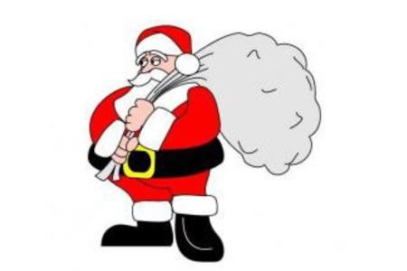 辛苦的圣诞老人
