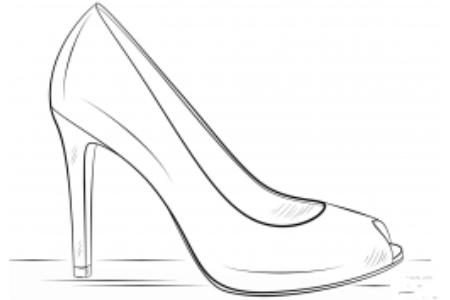 时尚高跟鞋