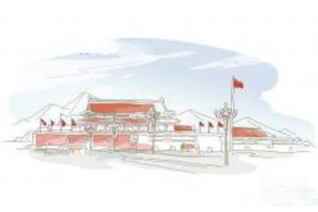 城市风光之北京天安门