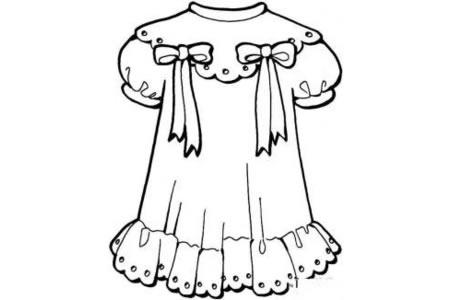 小女孩的裙子