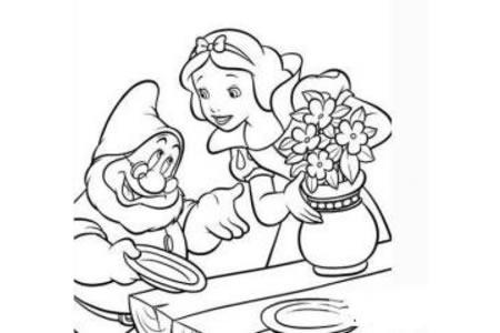 白雪公主的简笔画法 白雪公主简笔画大全