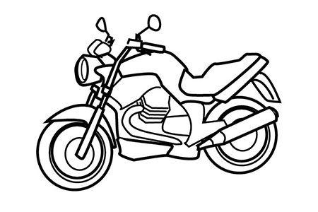 帅气的摩托车