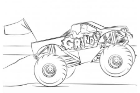 磨床怪物卡车