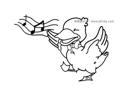 爱唱歌的鸭子先生