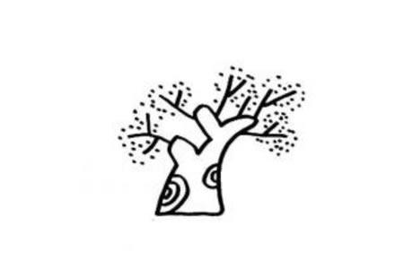 好看又简单的大树简笔画