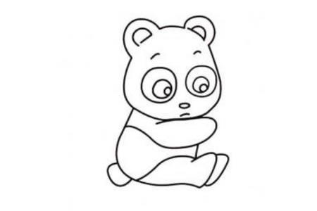 简单易画的大熊猫