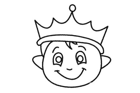 王子简笔画大全及画法步骤