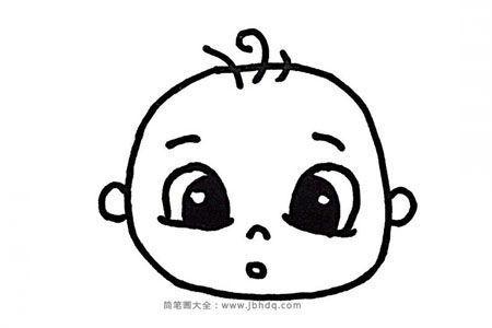 11个小男孩卡通头像画法