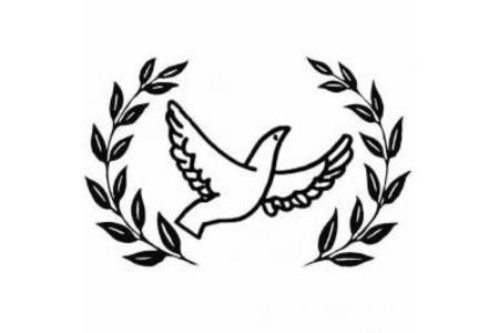 和平使者和平鸽简笔画图片