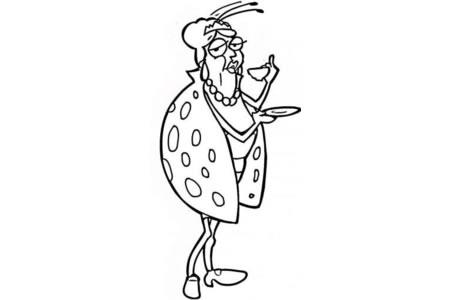 卡通瓢虫简笔画图片