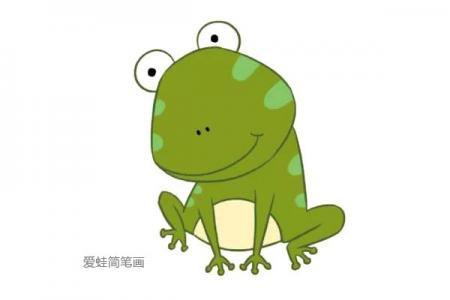 害羞的青蛙