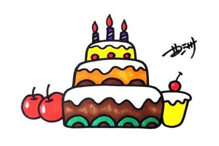 蛋糕 生日时候最好的礼物