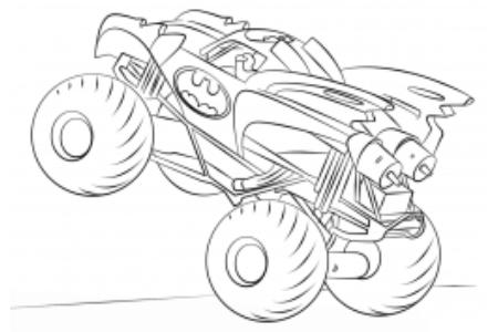 蝙蝠侠怪物卡车