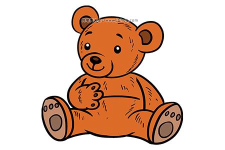 可爱的卡通小熊