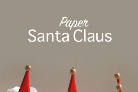 简单圣诞老人制作方法