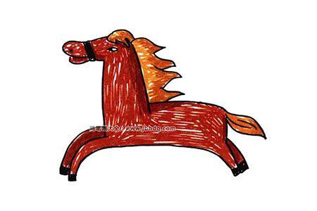 奔驰的小马