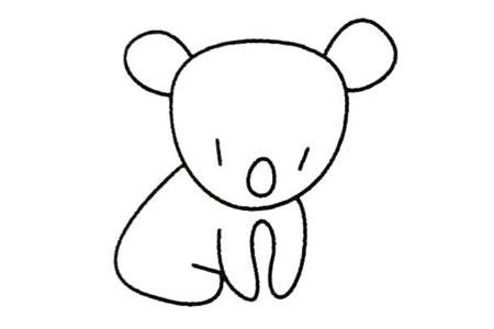 树袋熊简笔画大全及画法步骤