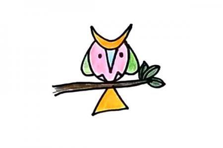 简单的猫头鹰