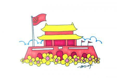 国庆节的天安门