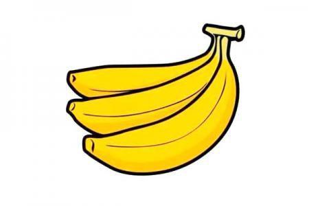 香蕉简笔画怎么画