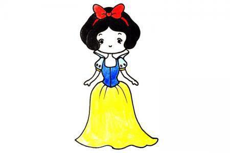 可爱的白雪公主
