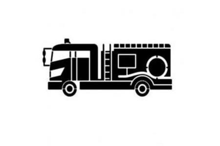 119消防车简笔画