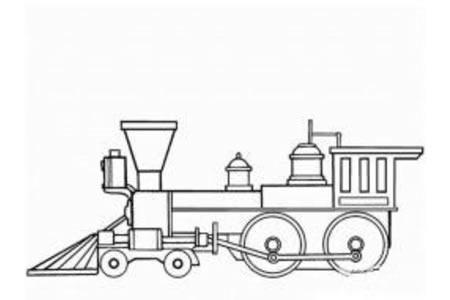 火车简笔画大全