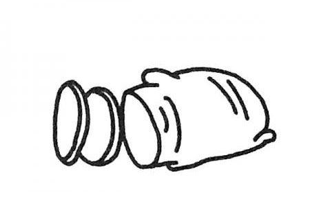 学画简单的生姜简笔画