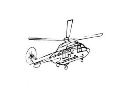 儿童学画直升机