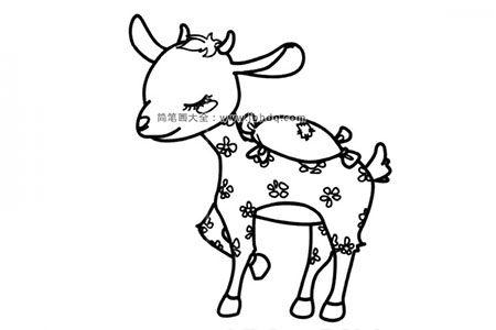 漂亮的小梅花鹿