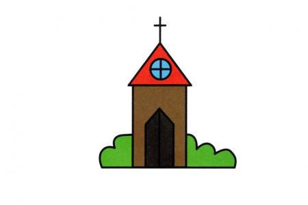 教堂简笔画