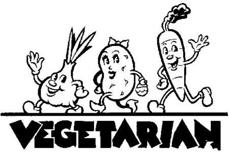 卡通蔬菜简笔画