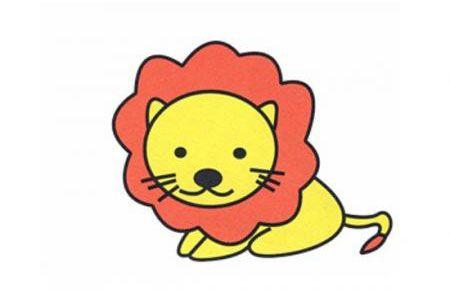 如何画狮子简笔画
