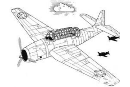 飞机简笔画 军事飞机简笔画图片