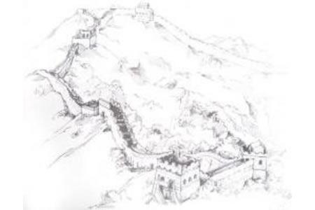 长城简笔画