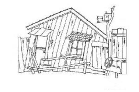 乡村的房子