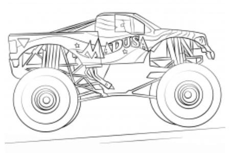梅杜莎怪物卡车