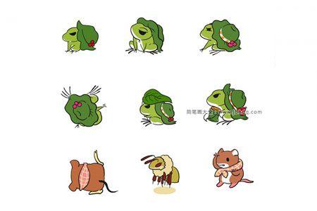 旅行青蛙和他的小伙伴