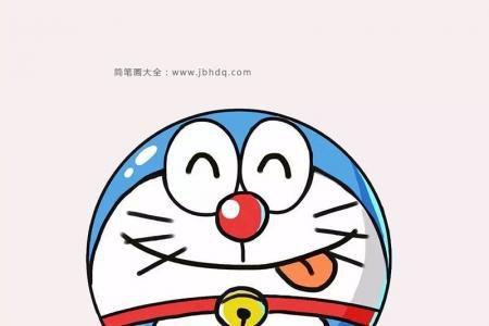 9张叮当猫的表情简笔画图片
