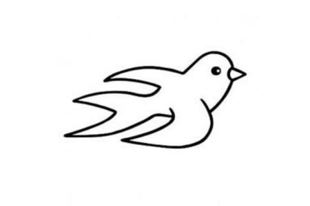 简单的燕子简笔画