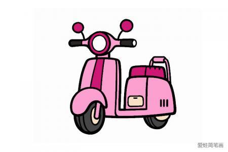 女士电动摩托车