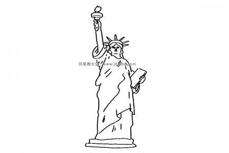 世界著名建筑 自由女神像