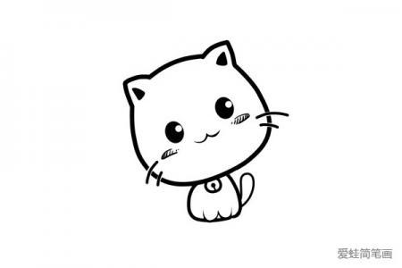 一只萌萌哒小猫咪