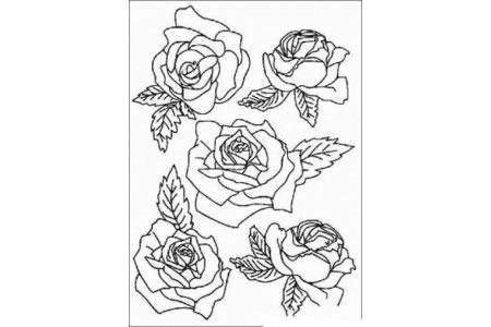 花朵简笔画大全 玫瑰花简笔画