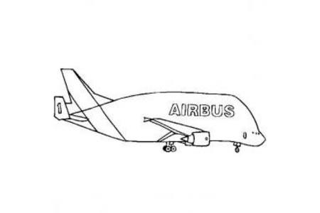 飞机简笔画大全 民用飞机简笔画