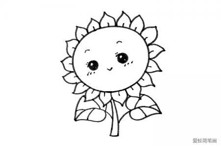 向日葵也可以很可爱