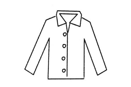 衣服简笔画大全及画法步骤