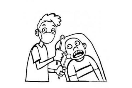 医生图片 牙医简笔画图片