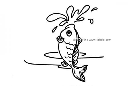 跳出水面的鱼